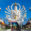 Statue of Shiva on Koh Samui island in Thailand — Stock Photo #47433823
