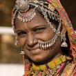 Portrait of a India Rajasthani woman — Stock Photo #47436431