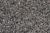 Gray small granite stone floor background — Stock Photo