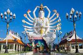 Estatua de shiva en la isla de koh samui en Tailandia — Foto de Stock
