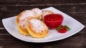 Cheese pancakes — Stockfoto