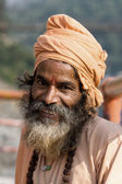 Indian sadhu (holy man).  India. — Stock Photo