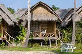 Tropical beach house in Thailand — Stock Photo