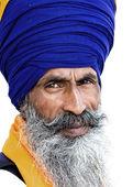 Uomo sikh ad amritsar, india. — Foto Stock