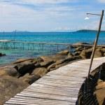 Beautiful tropical beach in island Koh Kood , Thailand — Stock Photo #47445247