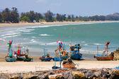 Tropical beach in Hua Hin, Thailand. — Stock Photo