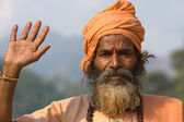 Indian sadhu (holy man).  India. — Stockfoto