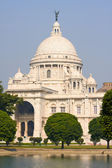 Victoria Memorial - Kolkata ( Calcutta ) - India — Stock Photo