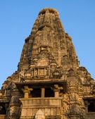 Erotic Temple in Khajuraho. Madhya Pradesh, India. — Stock Photo