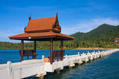 Pier in Thailand — Stock Photo