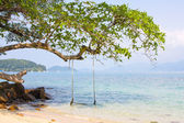 Beautiful tropical beach in Thailand — Stock Photo