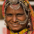 Portrait of a India Rajasthani woman — Stock Photo #47747149