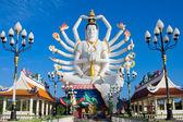 Statue of Shiva on Koh Samui island in Thailand — Stock Photo