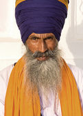 Sikh man in amritsar, india. — Stockfoto