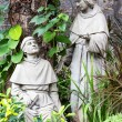 Statue in the courtyard of the old catholic church of the Basilica del Santo Nino. Cebu, Philippines. — Stock Photo #48428485