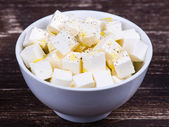 White greek cheese — Stock Photo