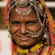 Portrait of a India Rajasthani woman — Stock Photo #48714051