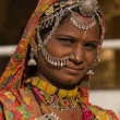 Portrait of a India Rajasthani woman — Stock fotografie #48732807