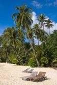 Wonderful beach on an island in Thailand — Stock Photo