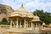 Gatore Ki Chhatriyan, Jaipur, Rajasthan, India. — Stock Photo