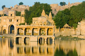 Gadi Sagar Gate, Jaisalmer, India — 图库照片