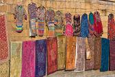 Mercado en jaisalmer. rajasthan, india. — Foto de Stock