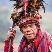 Ifugao - the people in the Philippines. — Foto de Stock