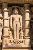 Erotic Temple in Khajuraho. Madhya Pradesh, India. — Foto Stock