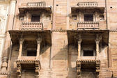 Haveli (mansion) in Varanasi, India — Stok fotoğraf