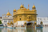 Golden Temple in Amritsar, Punjab, India. — Stock Photo