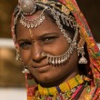 Portrait of a India Rajasthani woman — Stock fotografie #50151881