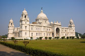 Landmark building of Calcutta or Kolkata, Victoria Memorial — Stock Photo