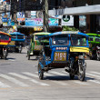 Постер, плакат: Tricycle motor taxi Philippines