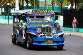 Jeepneys in Philippines. — Stock Photo