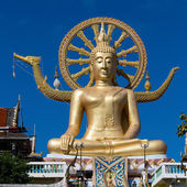 Big buddha statue on koh Samui, Thailand — Stock Photo