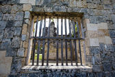 Old window in a church in Oslob, Philippines. — Stock Photo