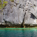 Rock and sea in El Nido, Philippines . — Stock Photo #51248469