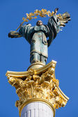 Independence monument in Kiev, Ukraine. — Stock Photo