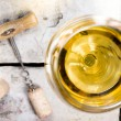 White wine — Foto de Stock