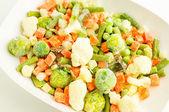 Frysta grönsaker — Stockfoto
