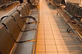 Una sedia aeroporto — Foto Stock