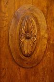 Dřevěná část dveří — Stock fotografie