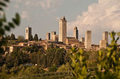 San gimignano, toscane, italie — Photo