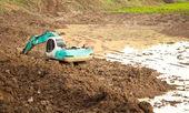 Excavator Service — Stock Photo