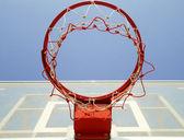 A basketball hoop — Stock Photo