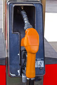 Fuel oil gasoline dispenser — Photo