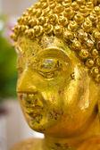 Close-up van gouden boeddhabeeld — Stockfoto