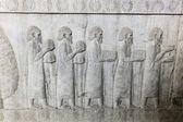 Bas-relief in Persepolis, Iran — Stock Photo