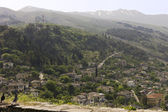 View of Gjirokaster from the castle, Albania — Stock Photo