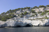 Natural caves, Menorca — Stock Photo